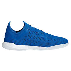 adidas X Tango 18.1 Mens Indoor Soccer Shoes Blue / Black US 7, Blue / Black, rebel_hi-res