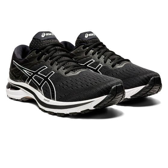 Asics GT 2000 9 Mens Running Shoes, Black/White, rebel_hi-res