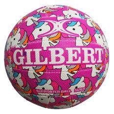 Gilbert Glam Unicorn Netball Size 4, , rebel_hi-res