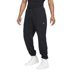 Jordan Essentials Mens Fleece Pants Black S, Black, rebel_hi-res