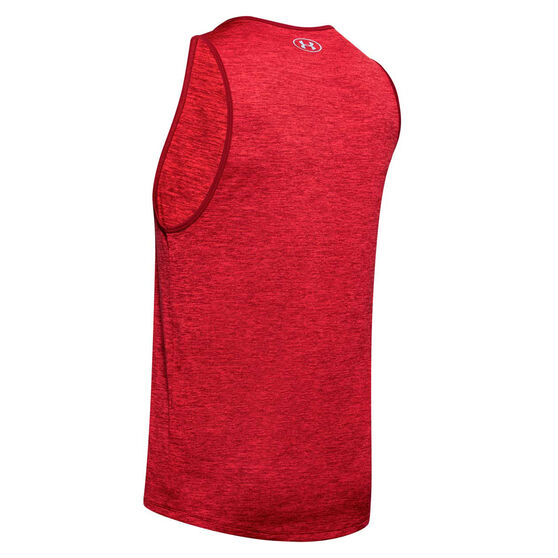 Under Armour Mens UA Tech 2.0 Tank, Red, rebel_hi-res