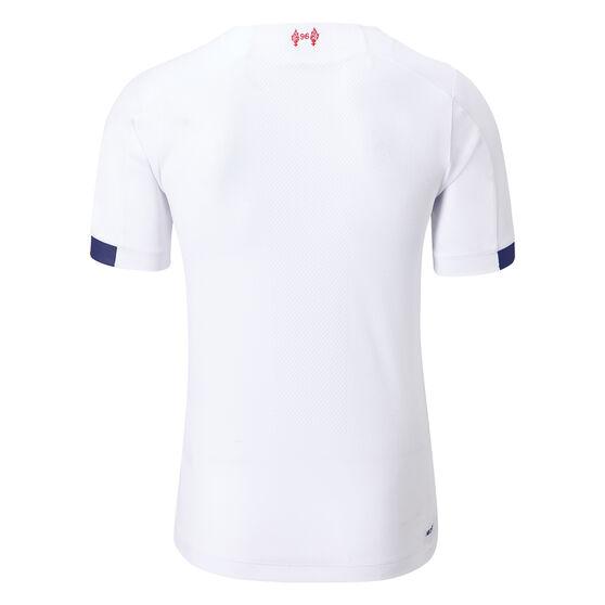 Liverpool FC 2019/20 Mens Away Jersey, White, rebel_hi-res