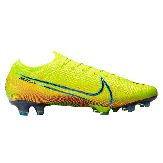 Nike Mercurial Vapor VII Elite MDS Football Boots, Yellow/Black, rebel_hi-res
