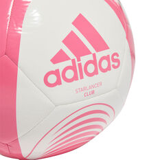 adidas Starlancer Club Soccer Ball Pink 3, Pink, rebel_hi-res