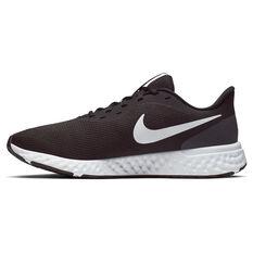 Nike Revolution 5 Mens Running Shoes Black/White US 7, Black/White, rebel_hi-res