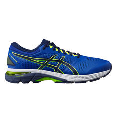 Asics GEL Superion 4 Mens Running Shoes Blue/Yellow US 7, Blue/Yellow, rebel_hi-res