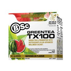 BodyScience  Watermelon Green Tea TX100, , rebel_hi-res
