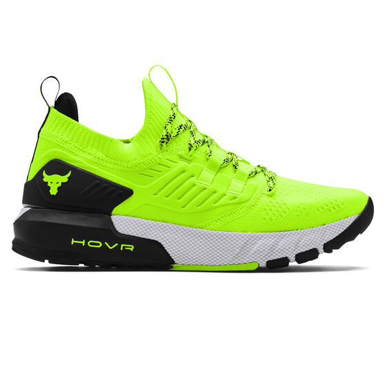 Under Armour Project Rock 3 Mens Training Shoes, Yellow/Black, rebel_hi-res