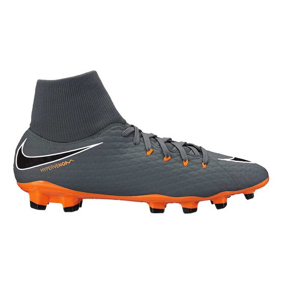 c4ad118a0 Nike Hypervenom Phantom III Academy Dynamic Fit Mens Football Boots Grey    Orange US 7 Adult