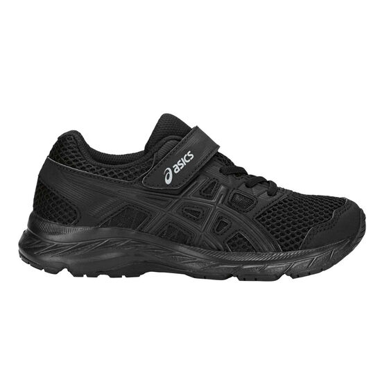 Asics Gel Contend 5 Kids Training Shoes Black US 11, Black, rebel_hi-res