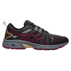 Asics GEL Venture 7 Womens Running Shoes Grey/Pink US 6, Grey/Pink, rebel_hi-res