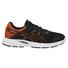 Asics Gel Excite 5 Mens Running Shoes Black / Orange US 7, Black / Orange, rebel_hi-res