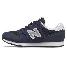 New Balance 373 Kids Casual Shoes Navy US 4, Navy, rebel_hi-res
