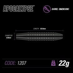 Winmau Apocalypse Brass Darts, , rebel_hi-res