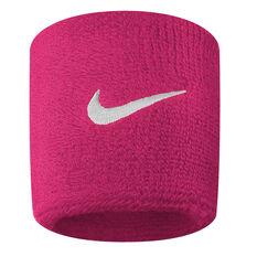 Nike Tennis Small Wristband, Pink, rebel_hi-res
