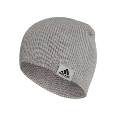 adidas Mens Performance OSFA Beanie Grey, Grey, rebel_hi-res
