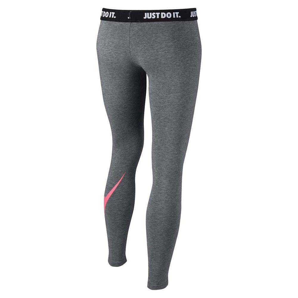 6ddff19afa Nike Girls Sportswear Leg A See Tights Grey / Pink M, Grey / Pink,