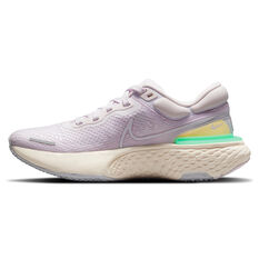 Nike ZoomX Invincible Run Flyknit Womens Running Shoes Lilac/White US 6, Lilac/White, rebel_hi-res