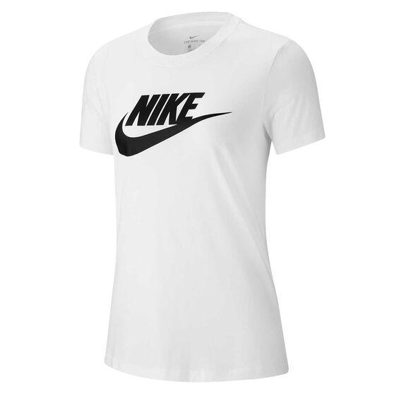 Nike Womens Sportswear Essential Tee, White, rebel_hi-res