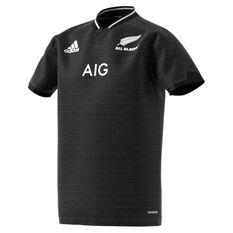 All Blacks 2021 Kids Home Jersey Black 8, Black, rebel_hi-res