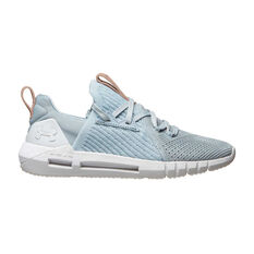 Under Armour HOVR SLK EVO Perf Suede Womens Casual Shoes Blue / Grey US 6, Blue / Grey, rebel_hi-res