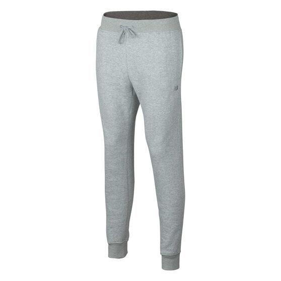New Balance Mens Volume Fleece Sweatpants, Grey, rebel_hi-res