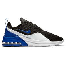 Nike Air Max Motion 2 Mens Casual Shoes Black / Blue US 7, Black / Blue, rebel_hi-res