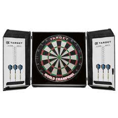 Target World Champions Aluminium Cabinet Dartboard Set, , rebel_hi-res