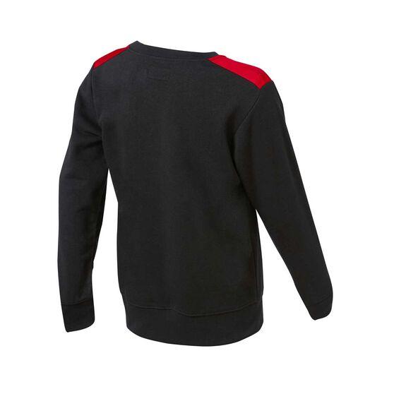 Nike Boys Jordan Remastered HBR Sweatshirt, Black / Red, rebel_hi-res