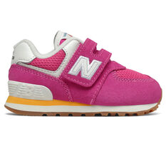 New Balance 574 Toddlers Shoes Pink/White US 4, , rebel_hi-res