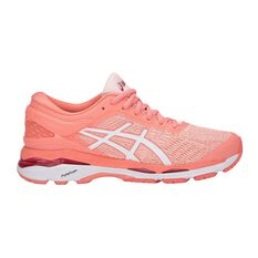 Asics GEL Kayano 24 Womens Running Shoes Pink / White US 6, Pink / White, rebel_hi-res