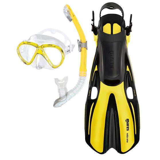 Mares Marlin Volo Senior Snorkelling Set, Assorted, rebel_hi-res