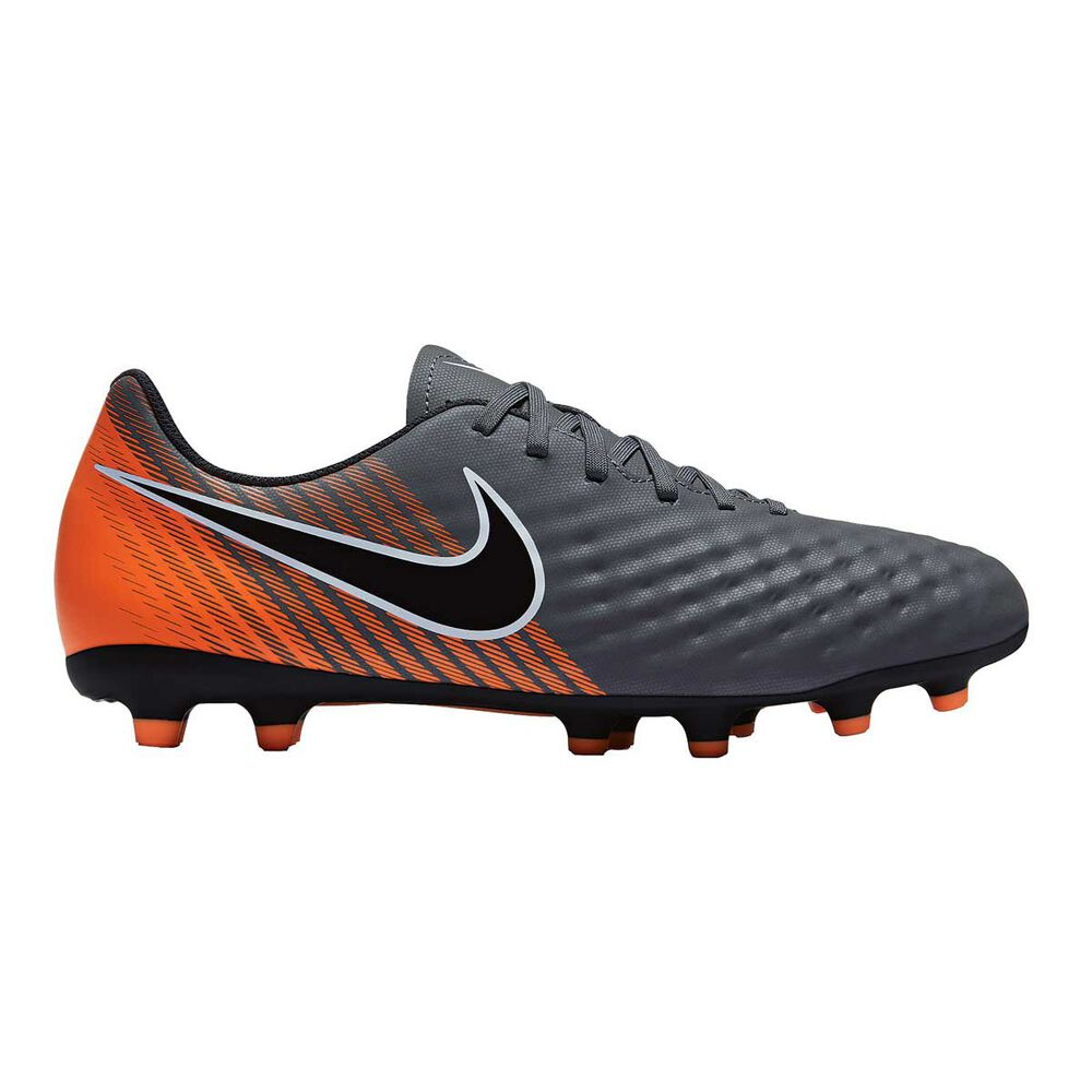da1423123 Nike Magista Obra II Club FG Mens Football Boots Grey   Orange US 7 Adult