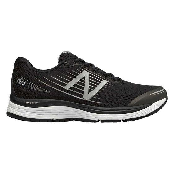 New Balance 880v8 Womens Running Shoes Black / White US 7, Black / White, rebel_hi-res