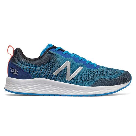 New Balance Fresh Foam Arishi 2E Mens Running Shoes, Blue, rebel_hi-res