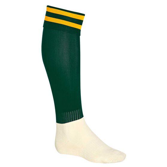 Burley Kids Football Socks, Bottle  /  gold, rebel_hi-res