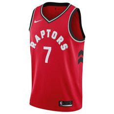 Nike Toronto Raptors Kyle Lowry 2018 Mens Swingman Jersey University Red S, University Red, rebel_hi-res