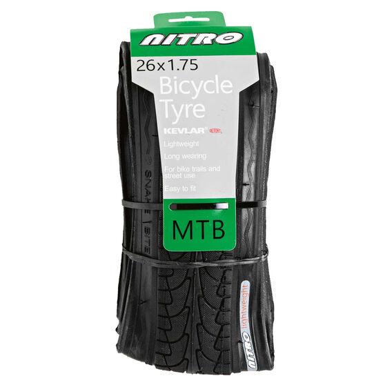 Nitro Cruiser 26in x 2in Folding Bike Tyre, , rebel_hi-res