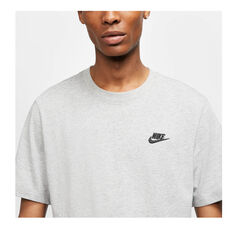 Nike Mens Sportswear Club Tee, Grey, rebel_hi-res