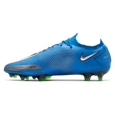Nike Phantom GT Elite Football Boots Blue US Mens 6 / Womens 7.5, Blue, rebel_hi-res