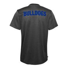 Canterbury Canterbury-Bankstown Bulldogs 2021 Mens Performance Polo Black S, Black, rebel_hi-res