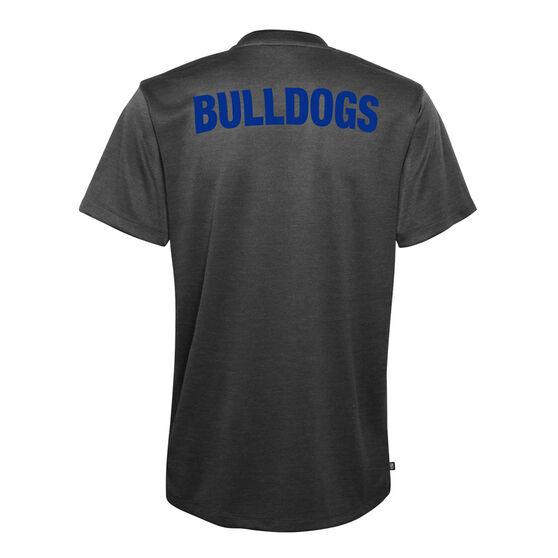 Canterbury Canterbury-Bankstown Bulldogs 2021 Mens Performance Polo, Black, rebel_hi-res