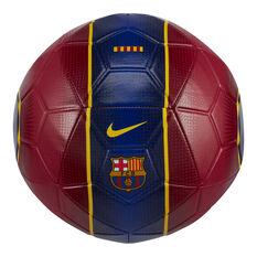 Nike FC Barcelona Strike Soccer Ball Red 5, Red, rebel_hi-res
