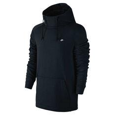Nike Mens Modern Hoodie Black S, Black, rebel_hi-res