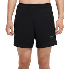 Nike Pro Mens Rep Shorts Black S, Black, rebel_hi-res