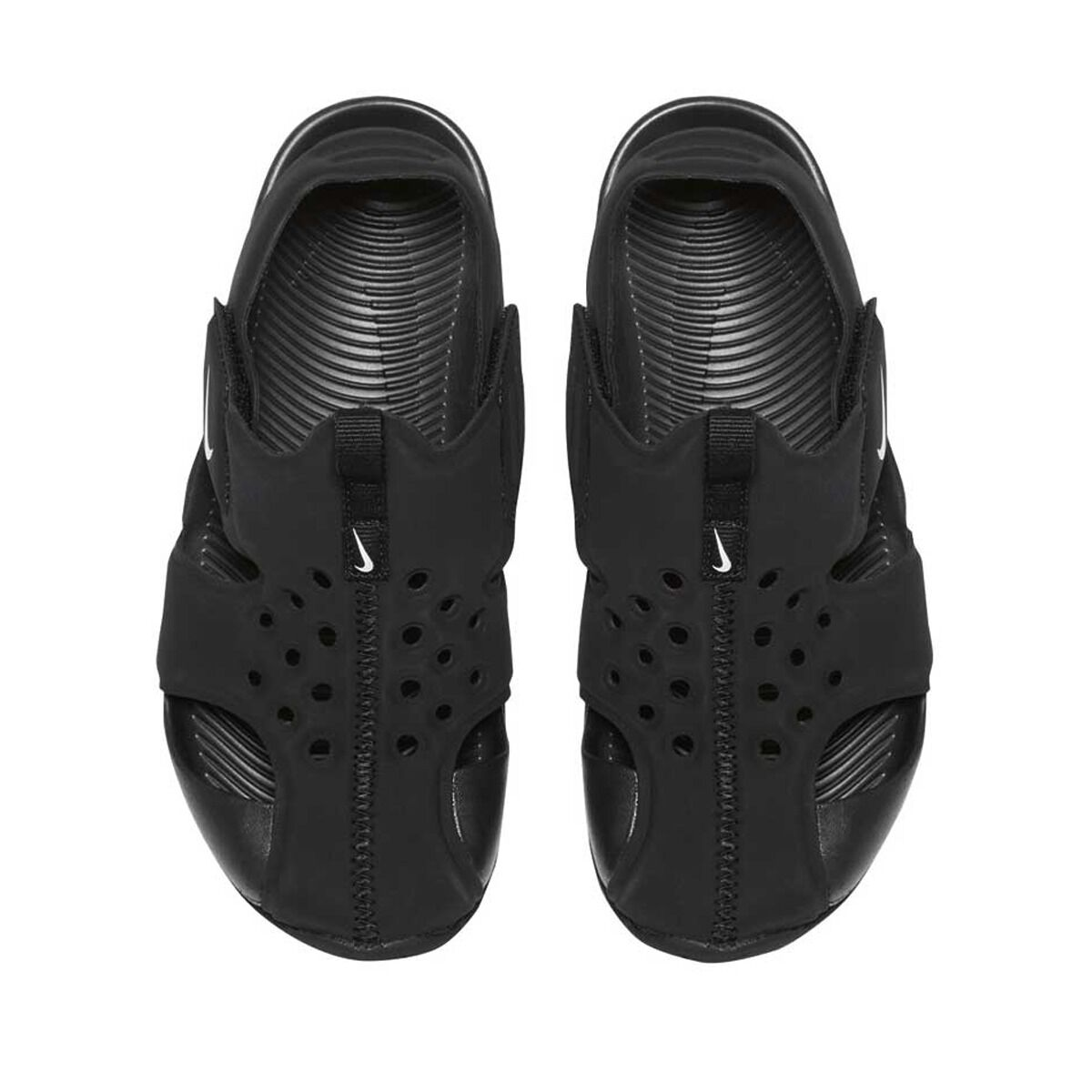 Protect White 2 Black 12 Us Nike Sandals Kids Junior Sunray UPffqwA5