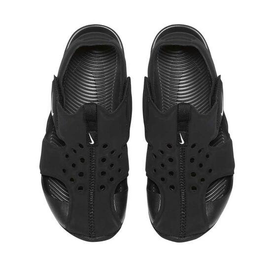 5845c5a3592 Nike Sunray Protect 2 Junior Kids Sandals Black   White US 12 ...