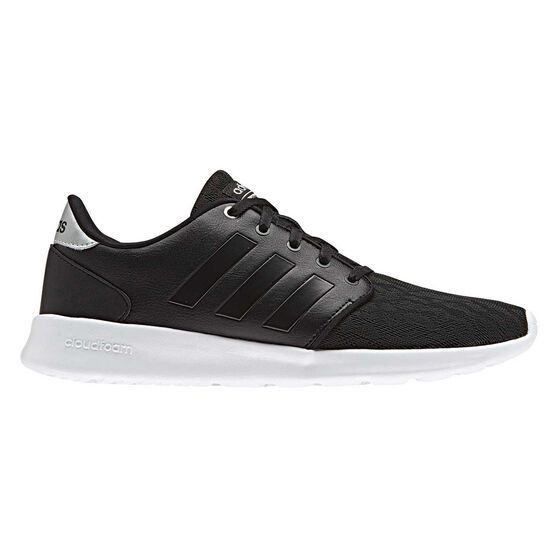 detailed look f0267 f1077 adidas Cloudfoam QT Race Womens Casual Shoes Black  Silver US 6, Black   Silver