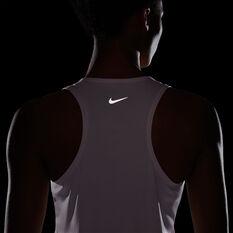 Nike Womens Swoosh Run Tank, Pink, rebel_hi-res