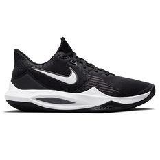 Nike Precision 5 Basketball Shoes Black/White US 7, Black/White, rebel_hi-res